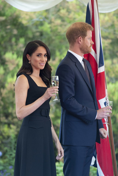 Meghan And Harry Attend A Reception At Glencairn