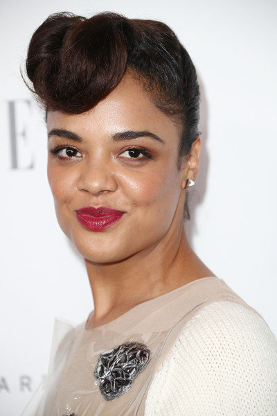 Tessa Thompson's Retro Updo at Elle's Women in Hollywood Celebration