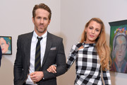 Actors Ryan Reynolds and Blake Lively All artworks by Martial Raysse .© 2018 Martial Raysse, Artists Rights Society (ARS), New York / ADAGP, Paris attends the