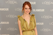Emma Stone attends Glamour's 2011 Women of the Year Awards on November 7, 2011 in New York City.