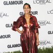 Tracee Ellis Ross in Metallic Red