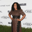 Shonda Rhimes in Shimmer and Lace