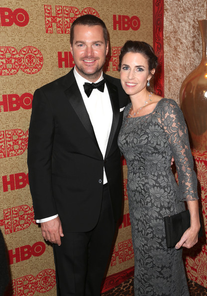 Chris O'Donnell & Caroline Fentress