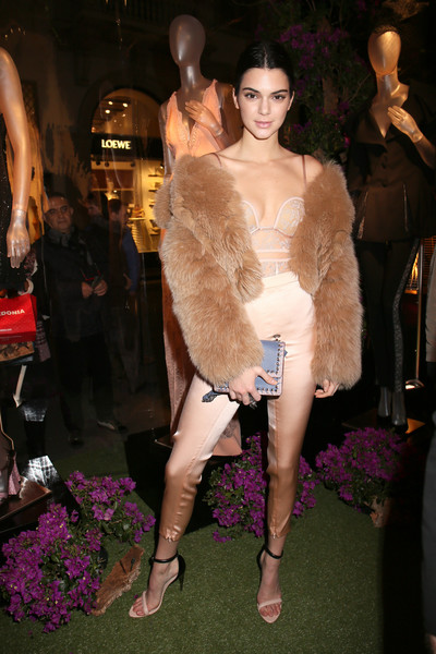 Wearing Sultry La Perla During The Brand's Presentation At Milan Fashion Week