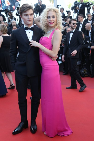 Pixie Lott And Oliver Cheshire At The 2016 Cannes Film Festival