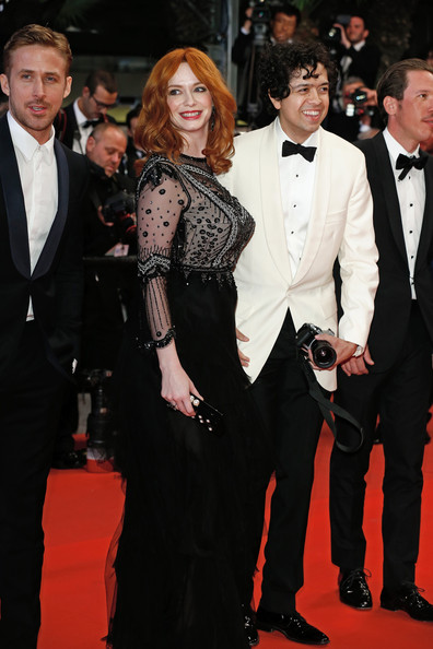 Christina Hendricks And Geoffrey Arend At The 2014 Cannes Film Festival