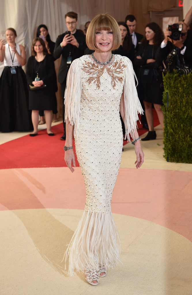 Anna Wintour Best Dressed At The Met Gala 2016 Livingly