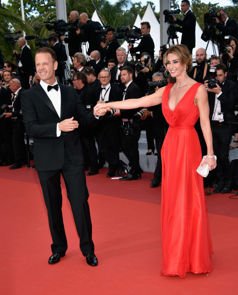Rocco Siffredi And Rozsa Tassi At The 2016 Cannes Film Festival