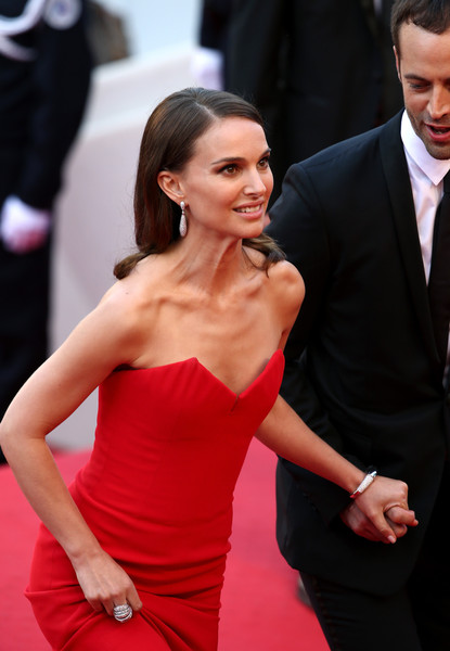 Natalie Portman And Benjamin Millepied At The 2015 Cannes Film Festival