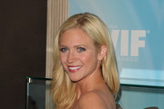 Actress Brittany Snow arrives at the 2011 Women In Film Crystal + Lucy Awards with presenting sponsor PANDORA jewelry at the Beverly Hilton Hotel on June 16, 2011 in Beverly Hills, California.