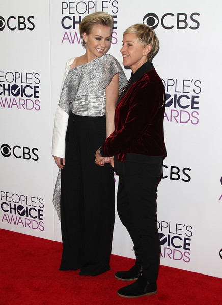 Now: Ellen DeGeneres and Portia de Rossi