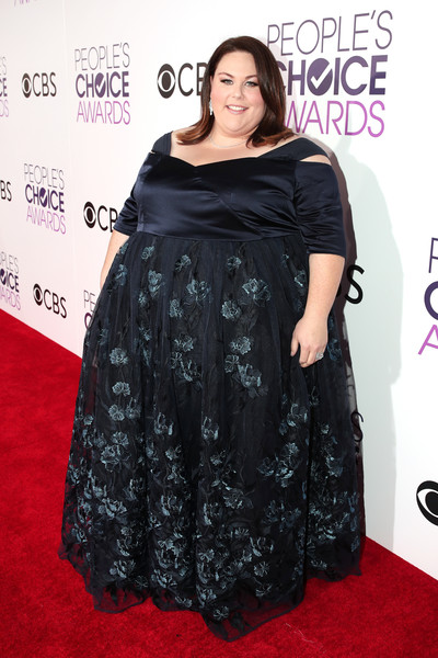 Black Ball Gowns at People's Choice Awards