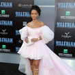 Rihanna in Giambattista Valli Couture at a Hollywood Premiere