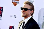 Actor Charlie Hunnam arrives at the season 7 premiere screening of FX's