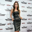 Showing Off Her Edge In A Leather Dress At The 'Inglorious Basterds' Premiere