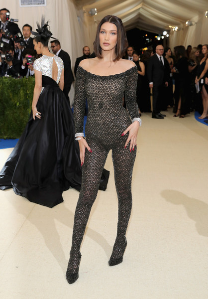 Bella Hadid in Alexander Wang at the Met Gala