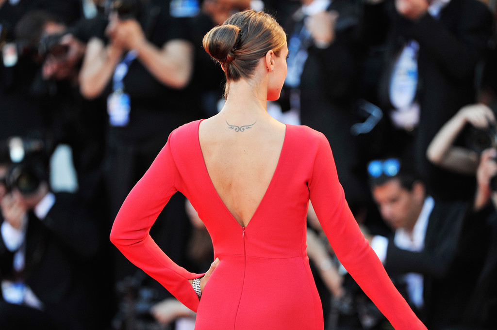 Kasia Smutniak The 50 Most Stylish Celebrity Tattoos