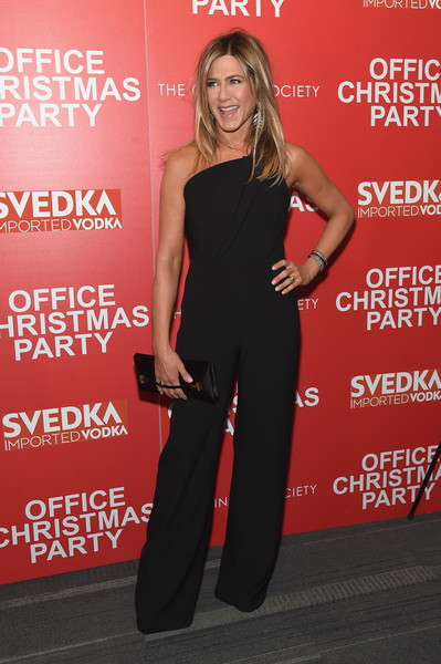In A Brandon Maxwell Jumpsuit At A NYC Screening Event