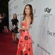 Minka Kelly at the Launch of the Parker Institute for Cancer Immunotherapy