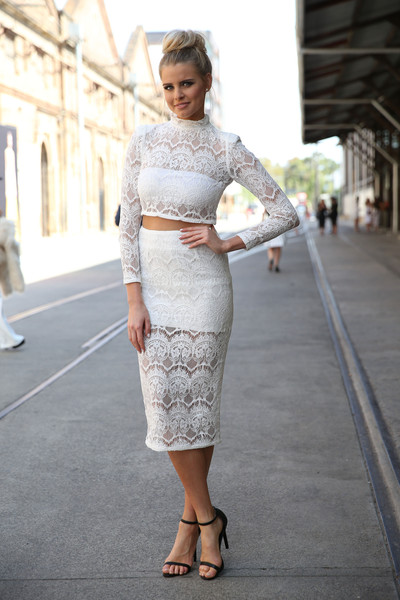 Luxe Lace Chic Street Style From Australia Fashion Week