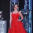 Retro Red in Christian Dior's Fit-and-Flare