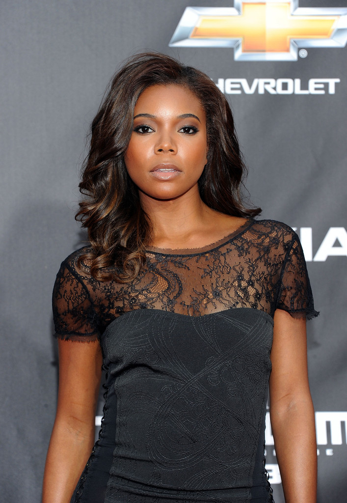 Gabrielle Union Covers Hype Hair Magazine S March 2015 Issue: Gabrielle Union Radiates With Long Polished Curls