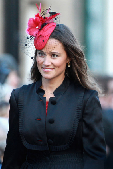 ee157d41dff65 Pippa Middleton Adorns Her Hair With a Stylish Hat - Pippa Middleton ...