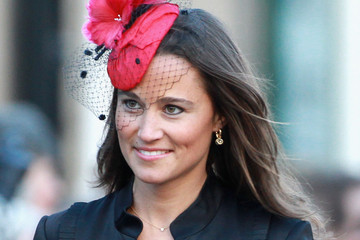 Pippa Middleton Adorns Her Hair With a Stylish Hat