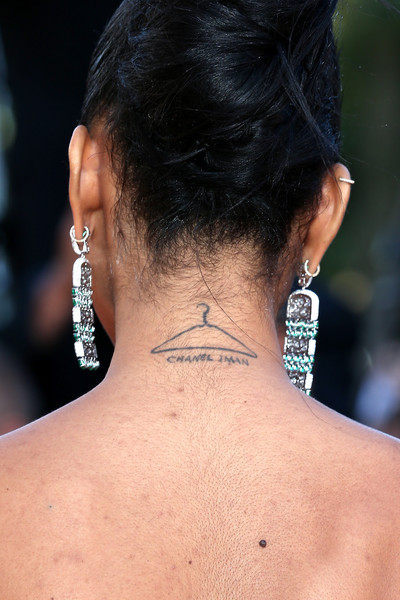 Chanel Iman Tattoo