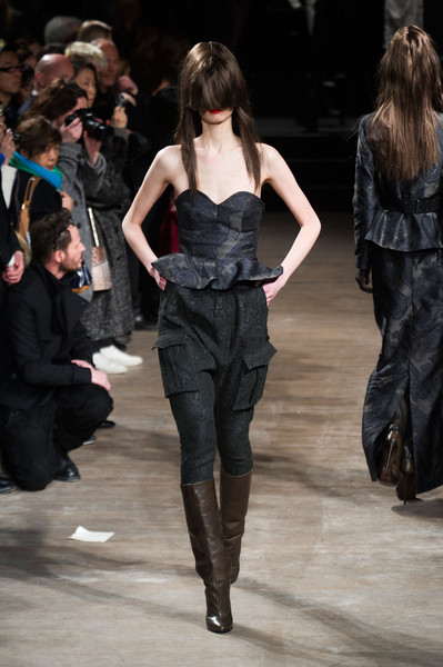 A.F. Vandevorst at Paris Fall 2013