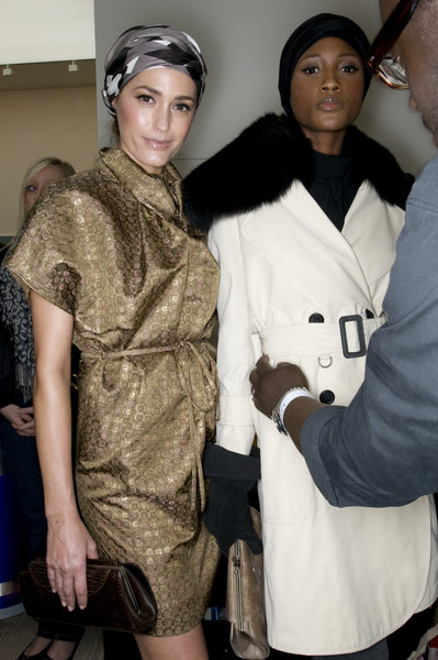 AQUASCUTM at London Fall 2009 (Backstage)