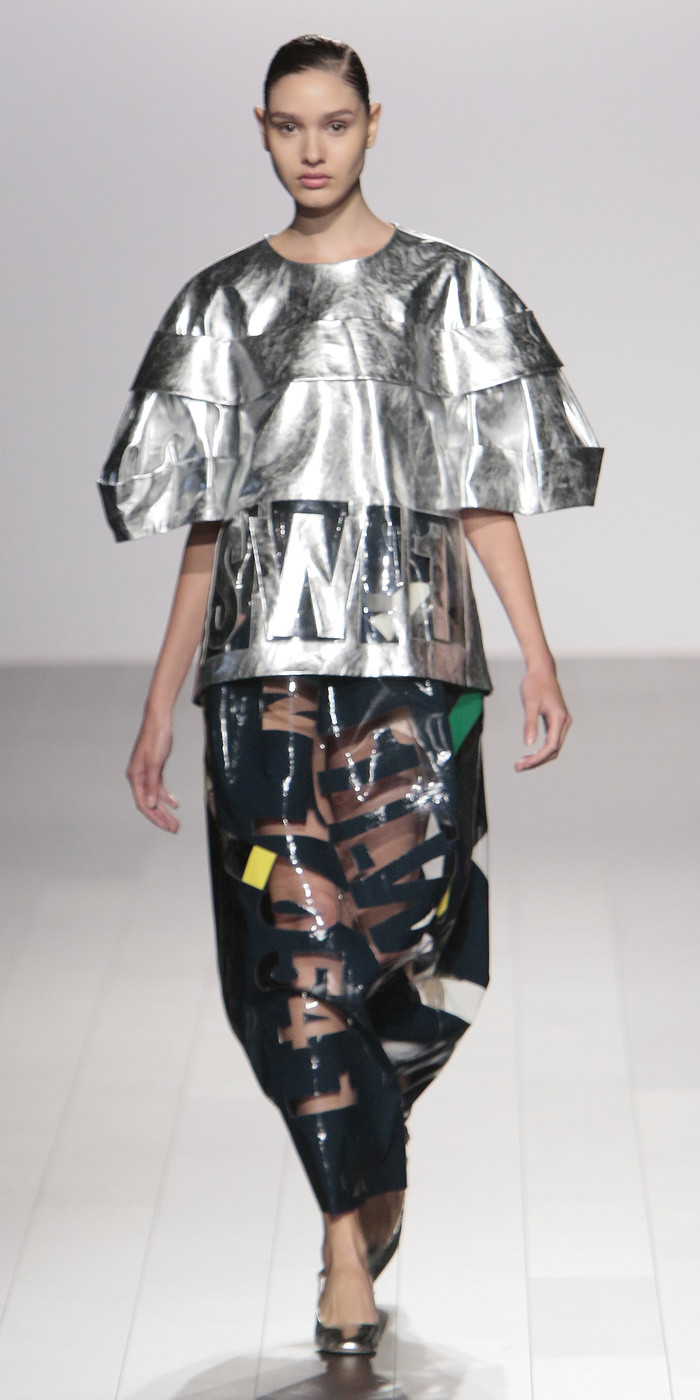 Academy of art university at new york fashion week spring for Fashion academy