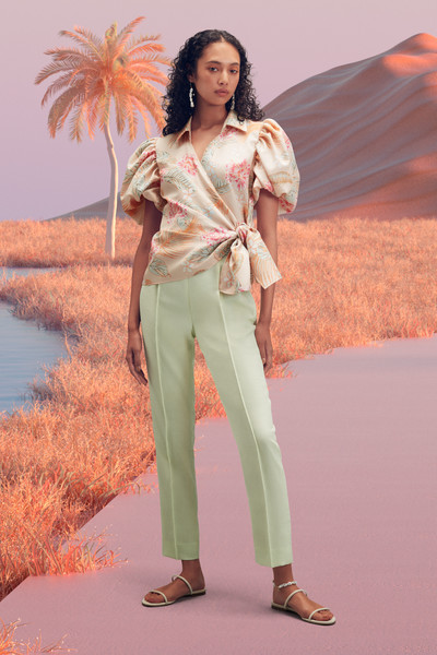 Adeam at New York Spring 2022 [footwear,hairstyle,leg,fashion,sleeve,orange,waist,thigh,street fashion,people in nature,gown,evening gown,dress,fashion,adeam,clothing,tailor,sleeve,new york fashion week,fashion show,fashion,fashion show,ready-to-wear,clothing,adeam,dress,gown,collina strada,evening gown,tailor]