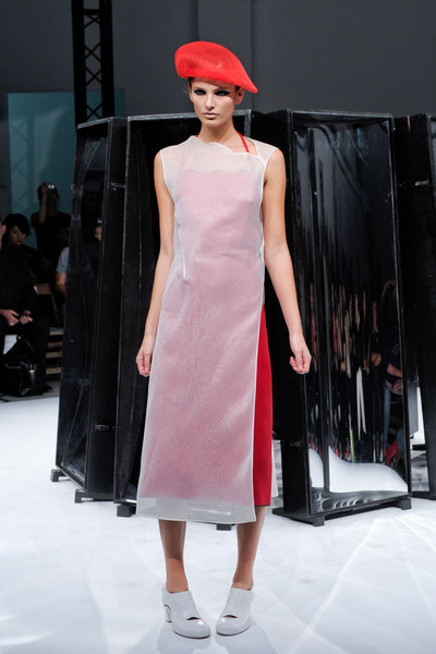 Aganovich at Paris Spring 2012