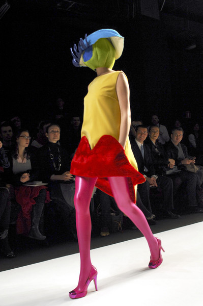 Agatha Ruiz de la Prada at Milan Fall 2009