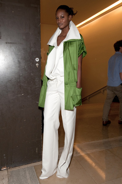 Akris at Paris Spring 2011 (Backstage)