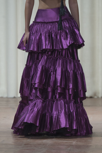Alberta Ferretti at Milan Spring 2017 (Details) [clothing,purple,dress,shoulder,gown,violet,fashion,haute couture,ruffle,textile,dress,gown,cocktail dress,fashion accessory,shoe,fashion,haute couture,model,milan fashion week,fashion show,fashion,dress,cocktail dress,fashion show,fashion accessory,gown,haute couture,satin,shoe,model]