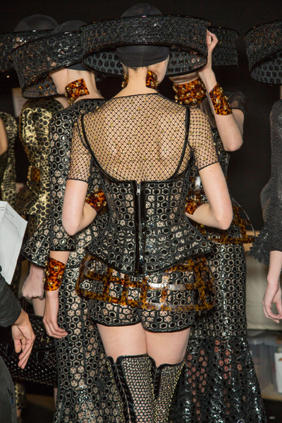 Alexander McQueen at Paris Spring 2013 (Backstage)
