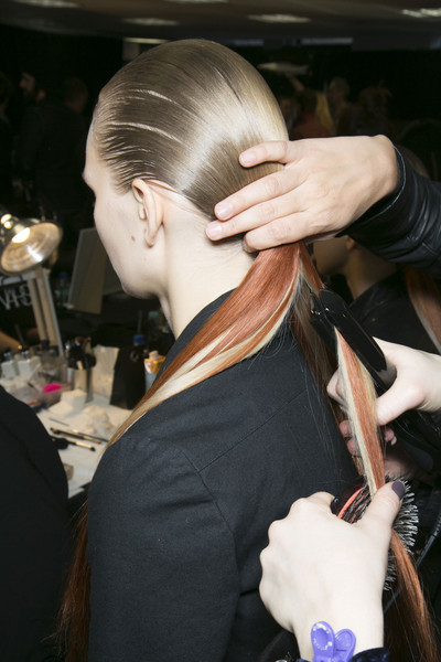 Alexander Wang at New York Fall 2013 (Backstage)