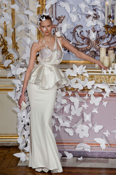 Alexis Mabille at Couture Spring 2014 [couture spring 2014,gown,dress,wedding dress,clothing,white,fashion model,haute couture,bridal clothing,fashion,bridal party dress,dress,gown,evening gown,alexis mabille,wedding dress,haute couture,fashion,model,runway,donatella versace,wedding dress,haute couture,fashion,dress,gown,runway,fashion show,evening gown,model]