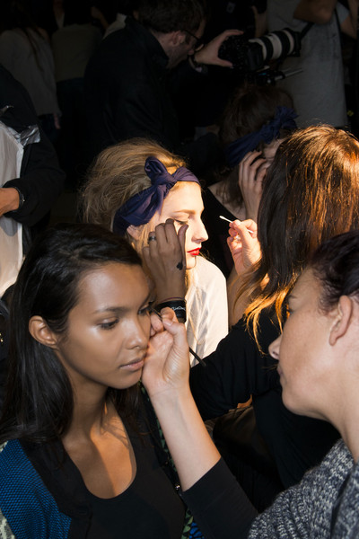 Alexis Mabille at Paris Spring 2014 (Backstage)