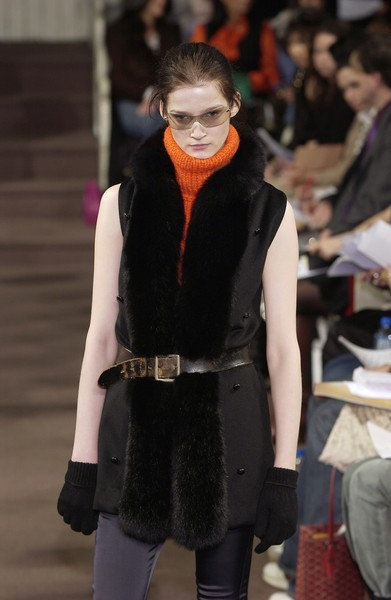 Alice Roi at New York Fall 2005 [clothing,fashion,fur,outerwear,costume,fictional character,cosplay,outerwear,socialite,fashion,fur,runway,model,textile,costume,new york fashion week,fashion show,fashion show,runway,fashion,model,socialite,fur,textile]