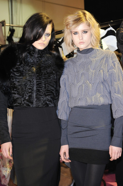 Amanda Wakeley at London Fall 2008 (Backstage)