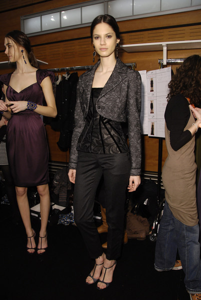 Andrew Gn at Paris Fall 2008 (Backstage)