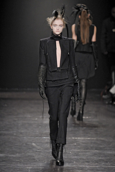 Ann Demeulemeester at Paris Fall 2011