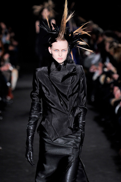 Ann Demeulemeester at Paris Fall 2012