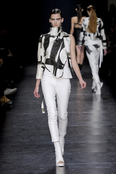 Ann Demeulemeester at Paris Spring 2011