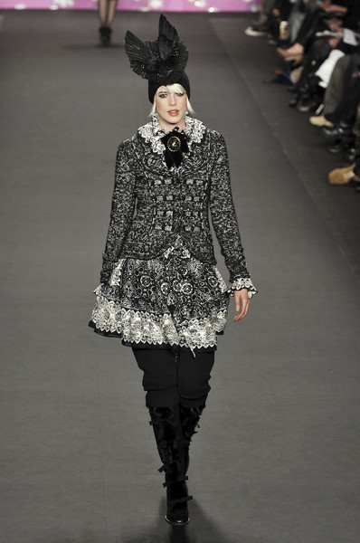 Anna Sui at New York Fall 2009
