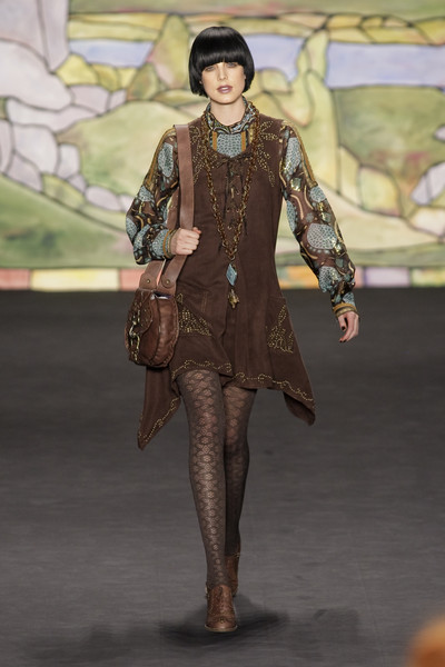 Anna Sui at New York Fall 2010