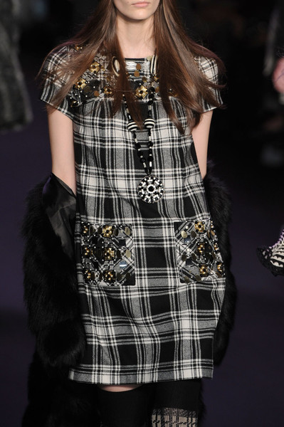 Anna Sui at New York Fall 2011 (Details)